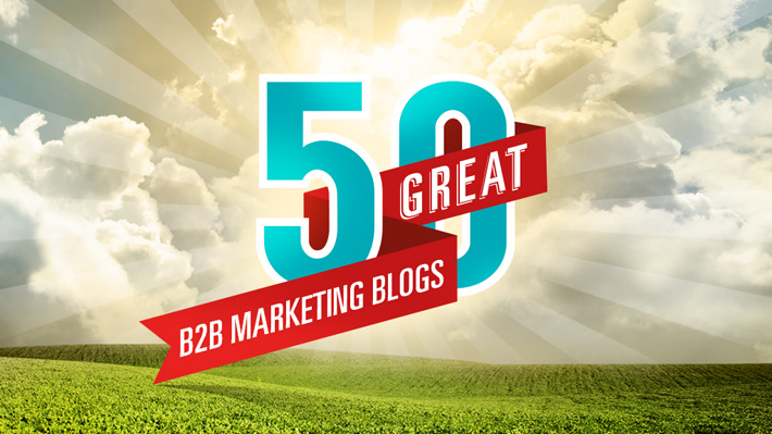 The 50 blogs every B2B marketer should follow