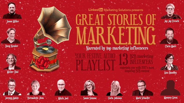 Stay tuned to our blog over the next 12 days as your favourite marketing writers share their favourite marketing wisdom