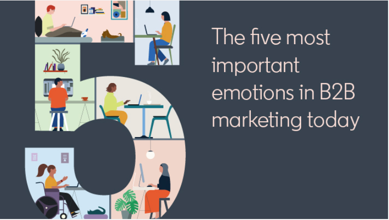 The five most important emotions in B2B marketing today
