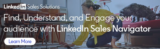 LinkedIn Sales Navigator Learn more