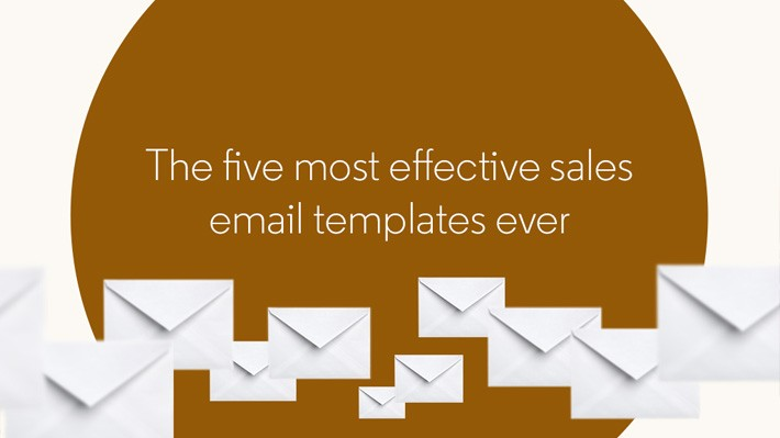 5 templates for sales emails and InMails that really work