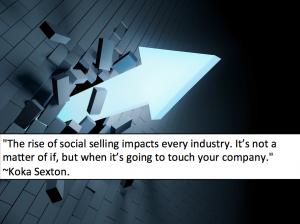 rise of social selling koka sexton