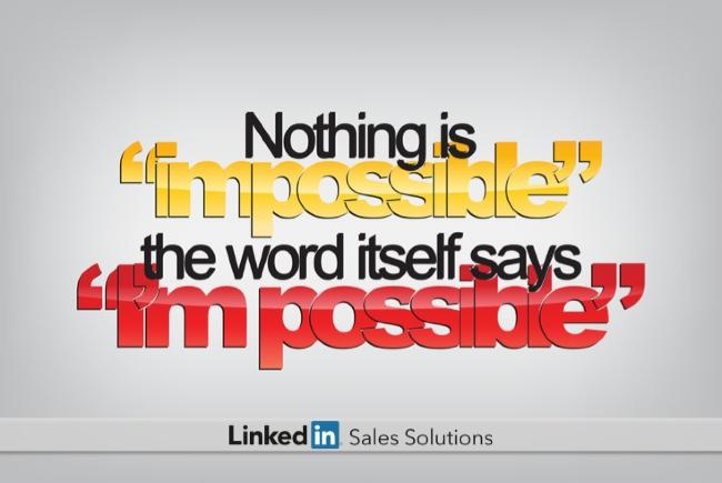 Sales Goals Do You Control Your Own Destiny Linkedin Sales Solutions