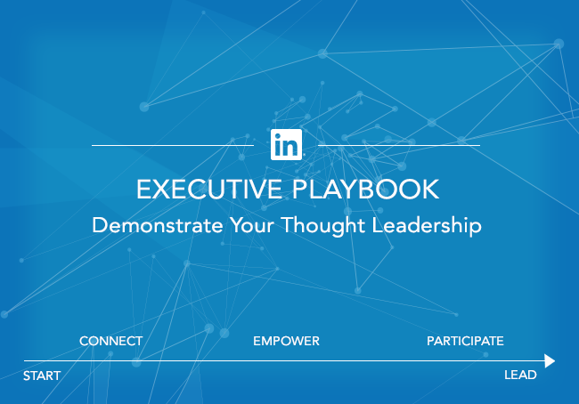 linkedin executive playbook The consulting playbook:  the consulting playbook intends to help the executive team devise a game plan that will elevate the game and allow the firm  linkedin .