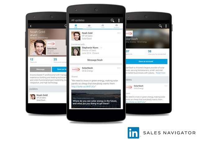 5 Things to Know about the New LinkedIn Sales Navigator