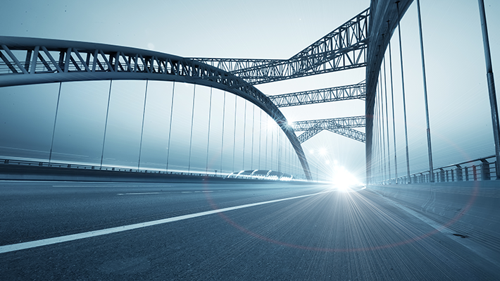 Bridge Leading into the Light