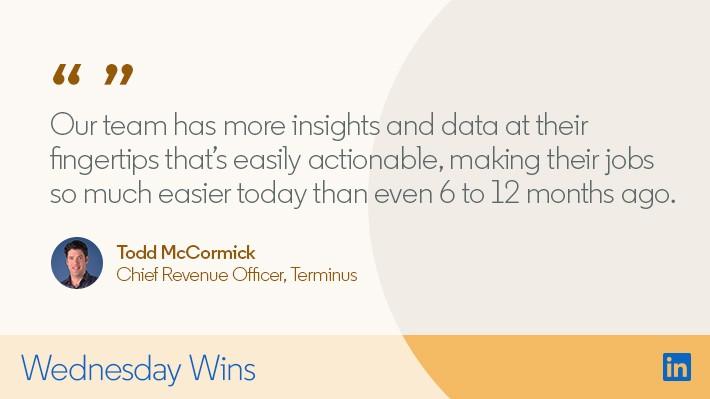 Terminus Relies on Sales Navigator to Increase Efficiency