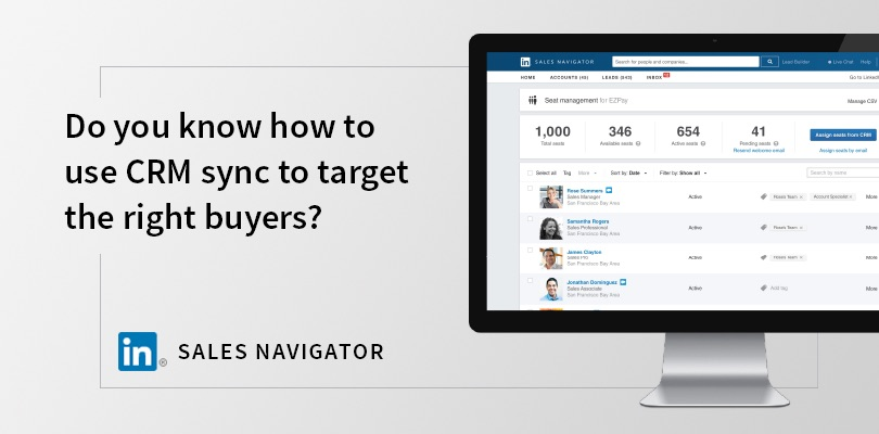 LinkedIn CRM Sync Gives You Sales Enablement Superpowers