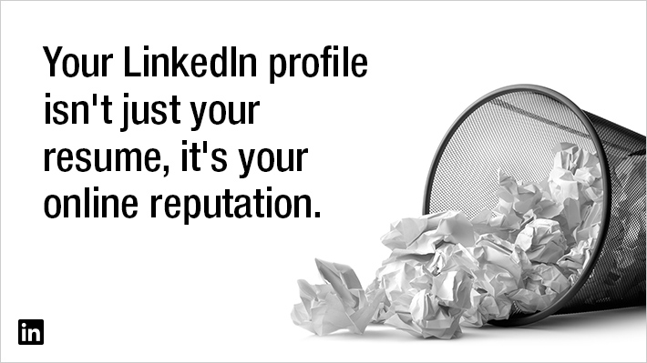 your linkedin profile is more than just your online resume