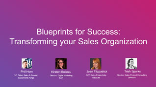 Blueprints for Success: Transforming your Sales Organization
