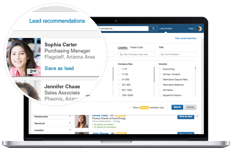 linkedin lead recommendations