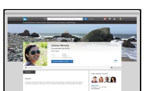 linkedin premium profile