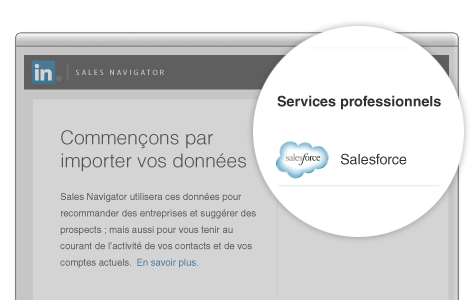 linkedin salesforce import