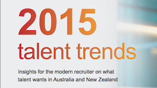 Australia & New Zealand  Talent Trends 2015