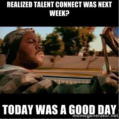 talent connect meme