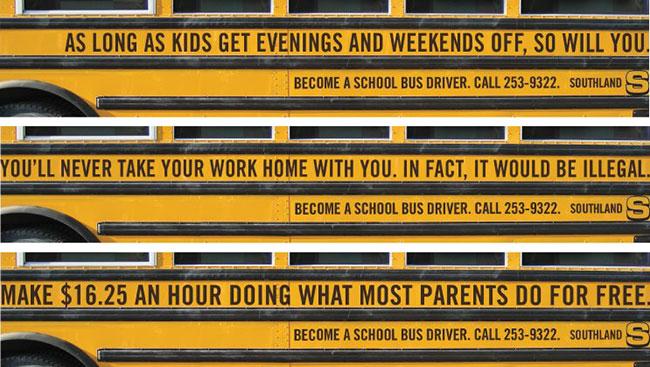 interesting job descriptions bus ad