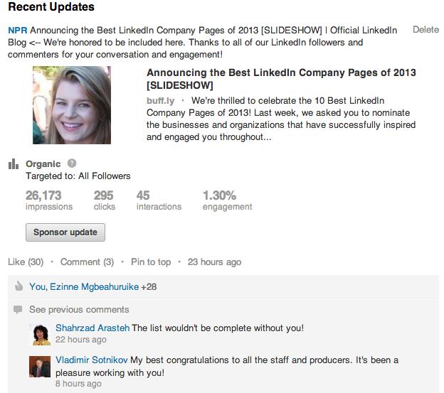 LinkedIn_status update