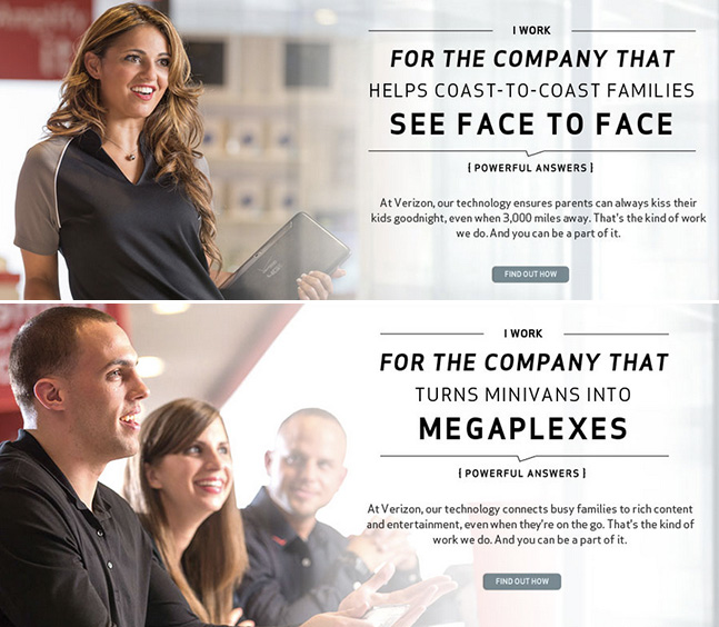 Verizon-employer-brand-campaign example