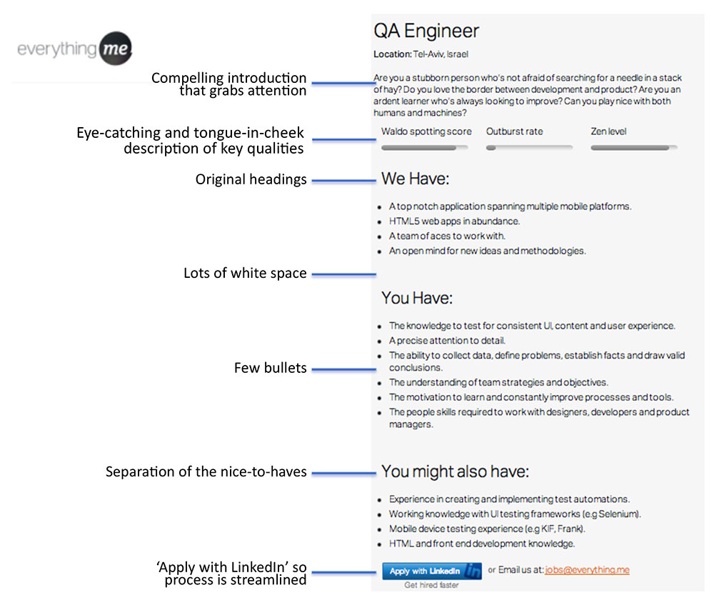 example of a job description template - job descriptions that win 3 outstanding examples