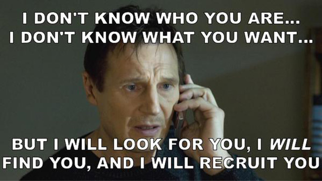 Liam Neeson is Offering to Endorse You on LinkedIn ...