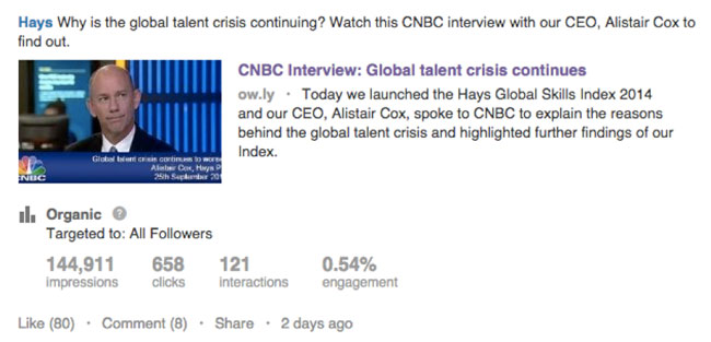 11 Ways Staffing Companies Should Use Status Updates   LinkedIn Talent Blog