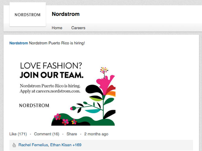 016dcdd1e8033 How Nordstrom is Reinventing Its Recruiting Strategy