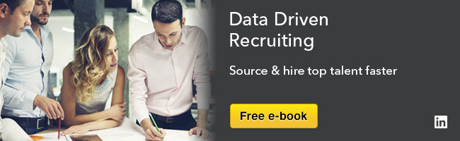 data driven recruiting ebook