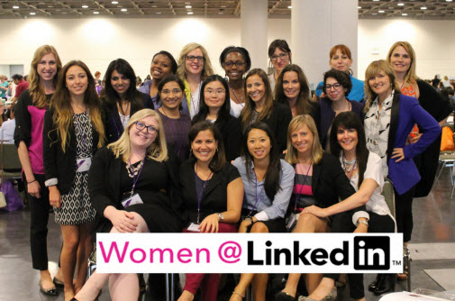 women at linkedin