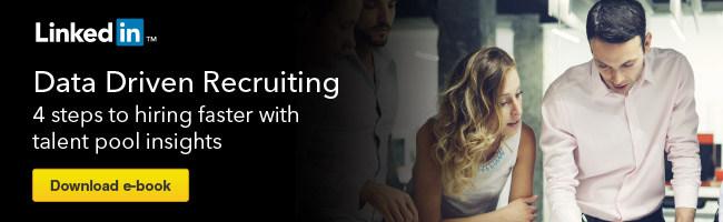 data driven recruiting ebook