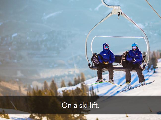 on-ski-lift