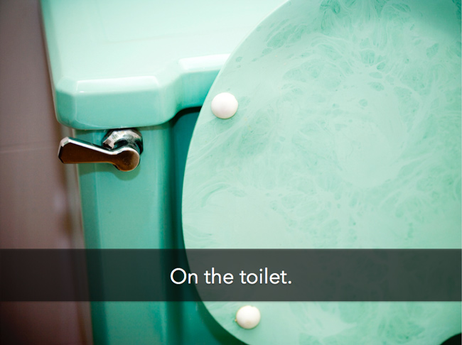 on-toilet