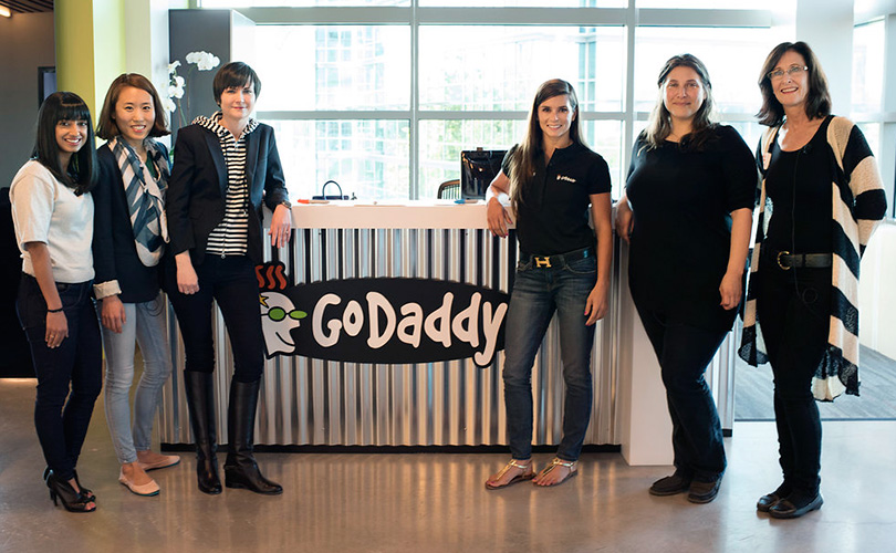 how godaddy changed its image and nearly tripled the amount of women