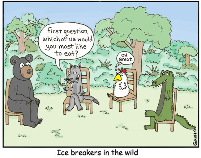 ice breaker questions for meetings