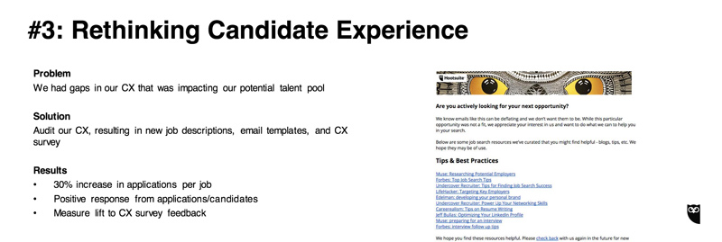 hootsuite candidate experience