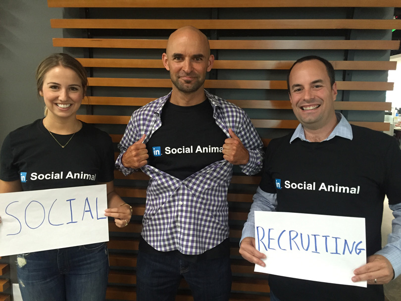 linkedin recruiting team