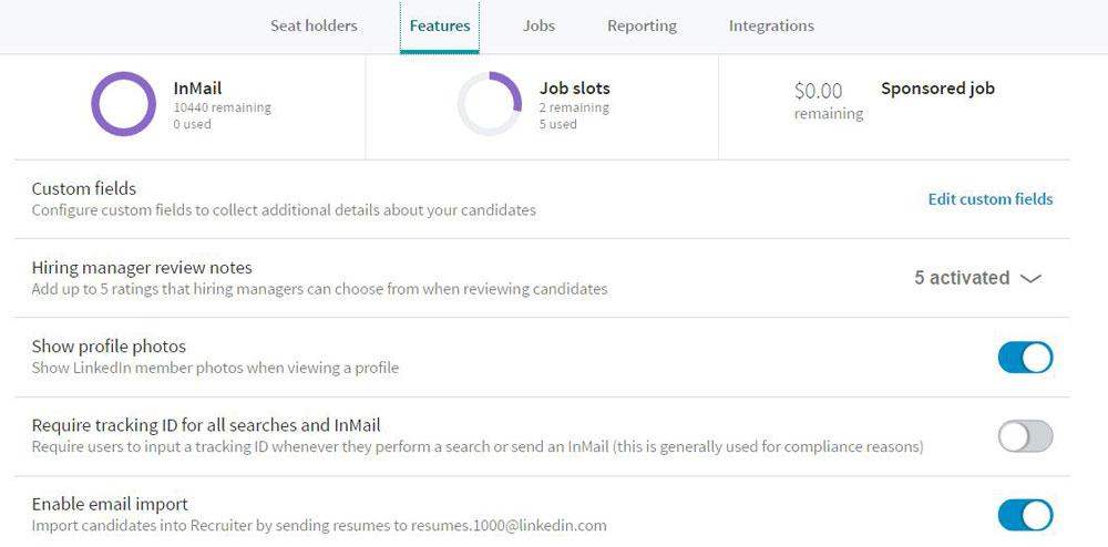 recruiter administrator experience