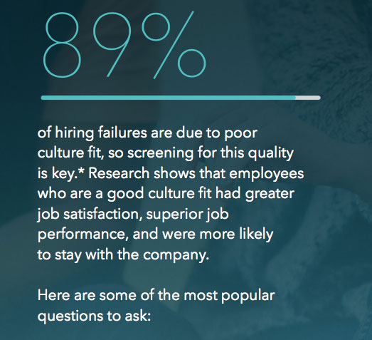 these questions reveal a candidates personality and their passion for your company