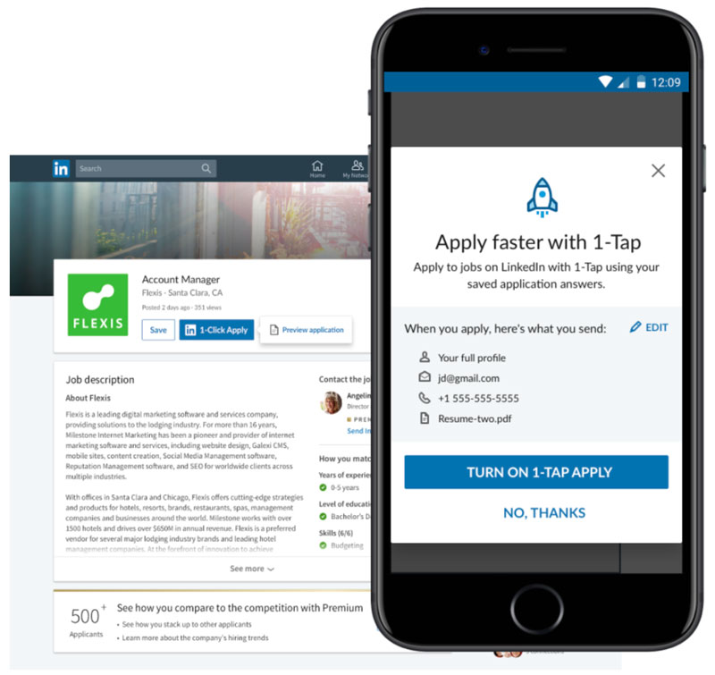 Job Seekers And Companies On Linkedin Can Now Instantly See If An