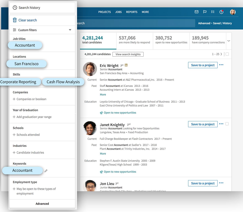 Linkedin recruiter é uma boa ferramenta para contratar desenvolvedor.