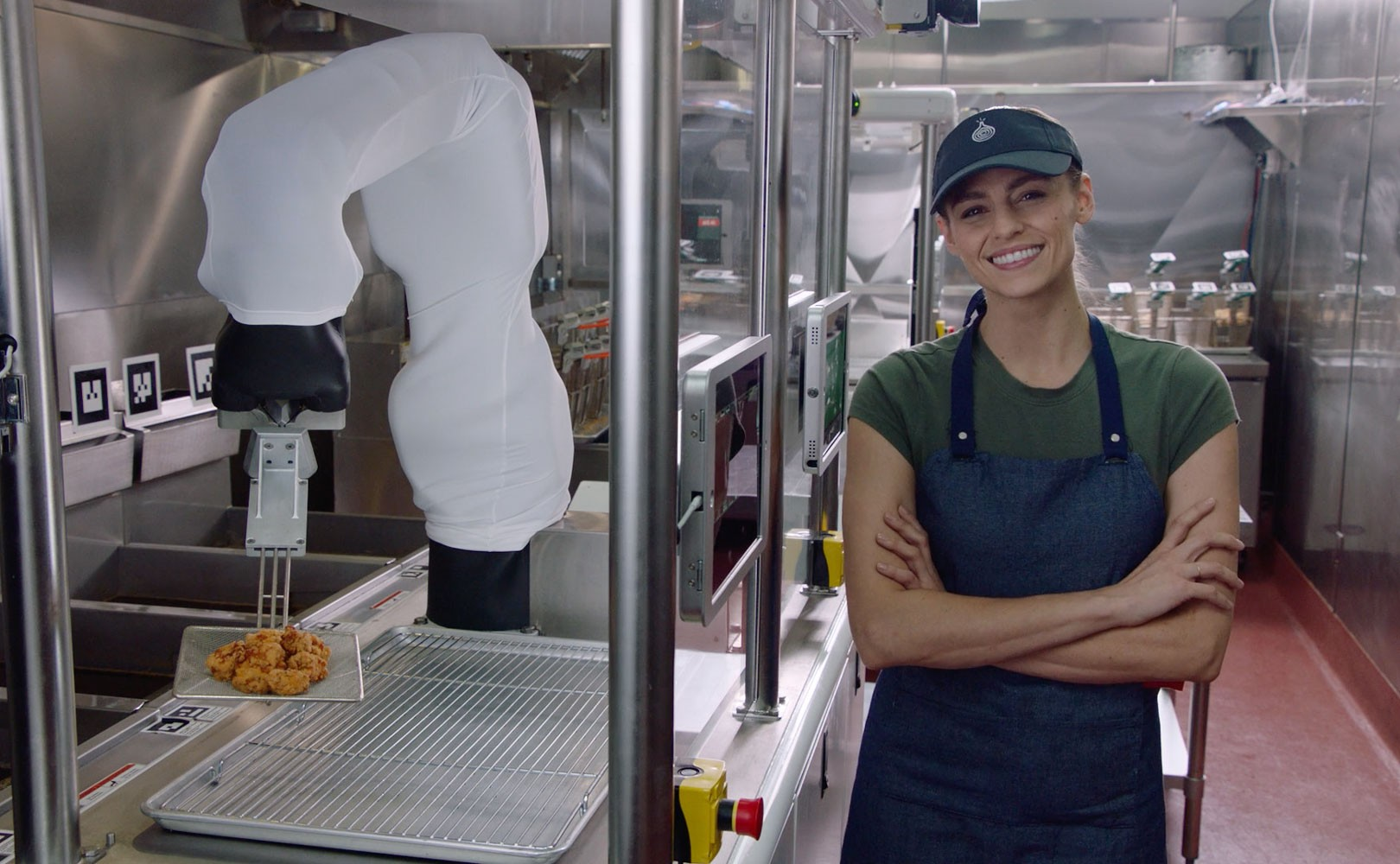 """How """"Cobots"""" Are Transforming Jobs in Every Industry, from Fast Food"""