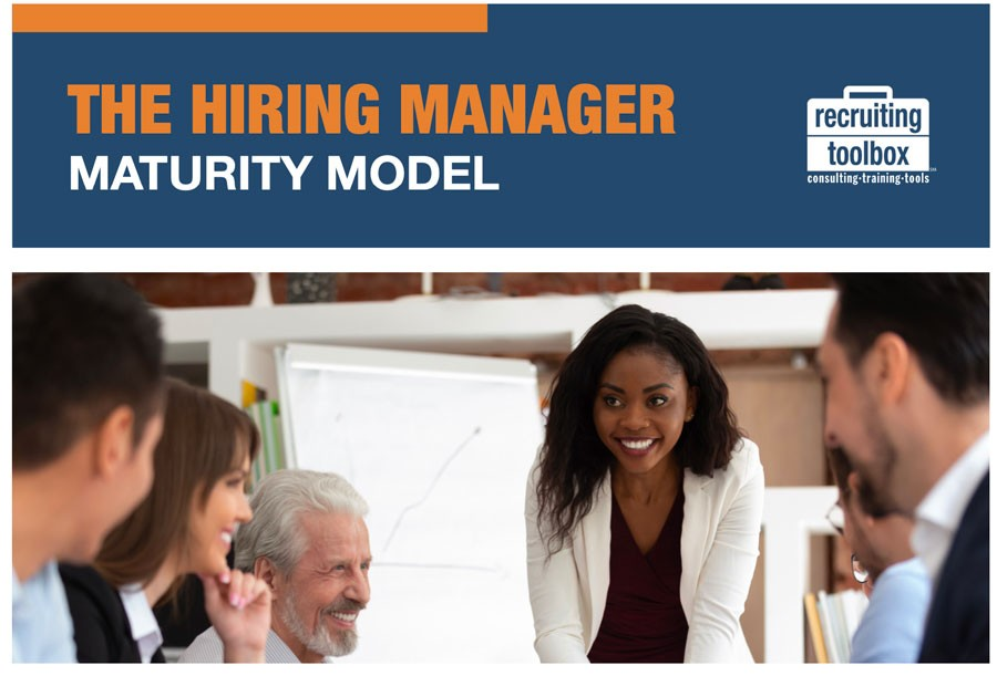 cover of hiring manager maturity model white paper