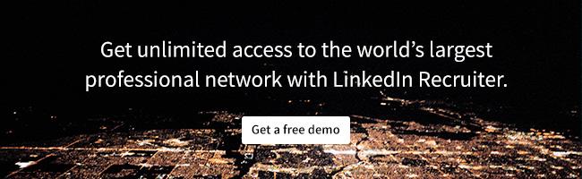 linkedin recruiter demo