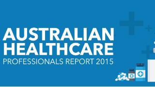 Australian Healthcare Professionals Report 2015