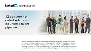 12 tips voor de <br>ultieme talent pipeline