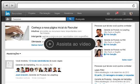 LinkedIn Recruiter - talentos passivos