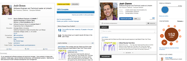 engineering the new linkedin profile linkedin engineering