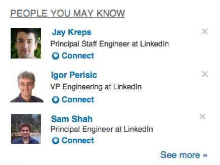 People You May Know at LinkedIn