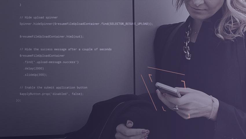 Resume Upload JavaScript