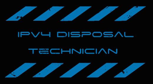IPv4 Disposal Technicians