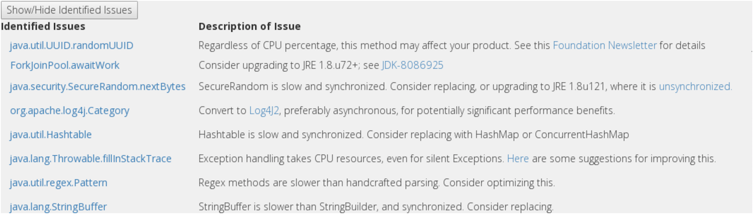Common Issue Detection for CPU Profiling   LinkedIn Engineering